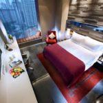 Quincy Hotel diseñado Ong & Ong, hermoso hotel en Singapur