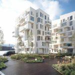 Apartamentos Puerto de Isla diseñados por Lundgaard y Tranberg