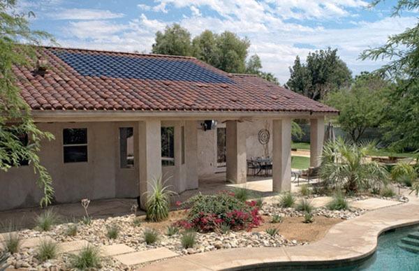 Notable dise o el ahorro de energ a con tejas solares for Tipos de tejados de casas