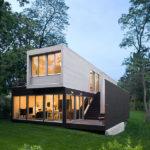 La increíble casa Noyack Creek en Nueva York