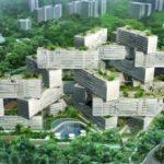 The Interlace, edificios entrelazados, diseño por OMA