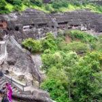 Construcciones antiguas las Cuevas de Ajanta (15 imágenes)