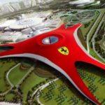Construcción del Parque Ferrari en Dubai (8 imágenes)