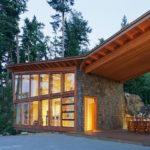 Sturgess arquitectura han diseñado una casa en una isla cerca de Vancouver, Canadá (13 imágenes)