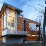 "Arquitectos SSD diseñaron la casa ""Big Dig"" en Lexington, Massachusetts (11 imágenes)"