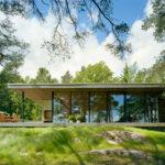 Hermosa casa rural diseñada por WRB en Estocolmo (9 imágenes)