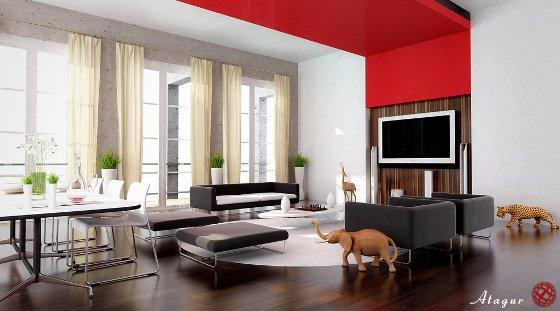 14 ideas para el dise o de su sala principal 14 im genes for Sala design for small house