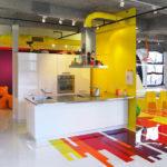 Diseño de un Loft colorido y por dinámico por Jean Verville