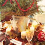 Como decorar el centro de su mesa de navidad – modelos