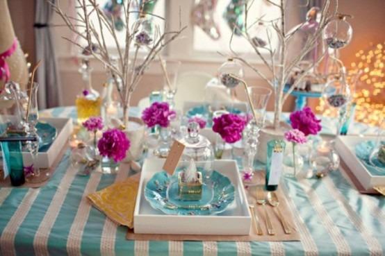 Como decorar la mesa de navidad modelos tikinti - Como adornar la mesa en navidad ...
