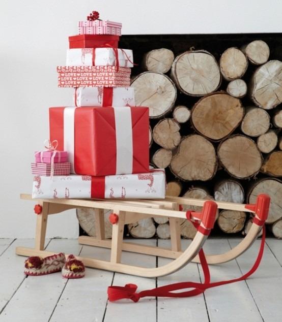 Como hacer decoraciones para navidad ejemplos Tikinti