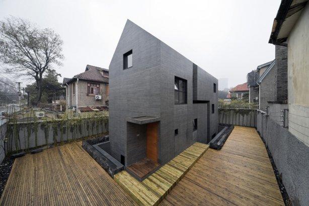 Casa de concreto un proyecto de atelier zhanglei tikinti for Casas de cemento