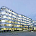 Edificio sede de una empresa de construcción en Alemania