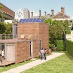 Fotos de una casa prefabricada de madera o casa modular