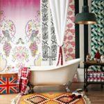 36 ideas para el diseño de baños estilo bohemio