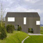 Planos de una casa minimalista en Suiza