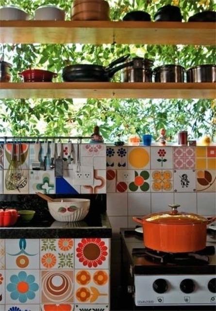 49 ideas para dise os de cocinas estilo bohemio tikinti - Estilo de cocinas ...