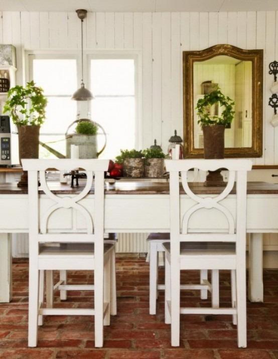 47 diseños de comedores rusticos pequeños | Tikinti
