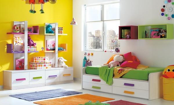 Habitaciones para ni os de kibuc tikinti for Decoracion cuartos pequenos ninos