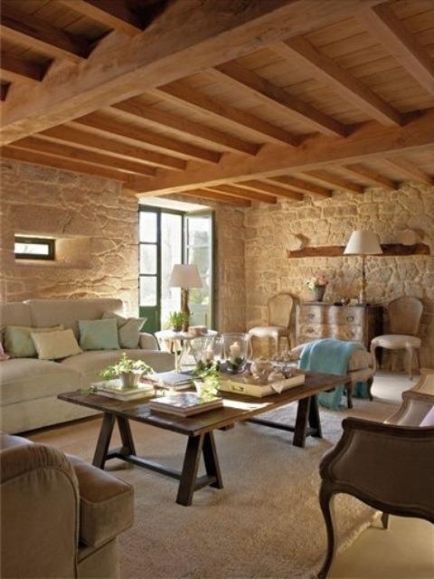 decoracion de interiores habitaciones rusticas:habitaciones-rusticas-046