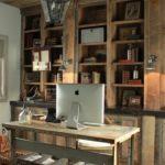 42 Impresionantes diseños de oficinas estilo rustico
