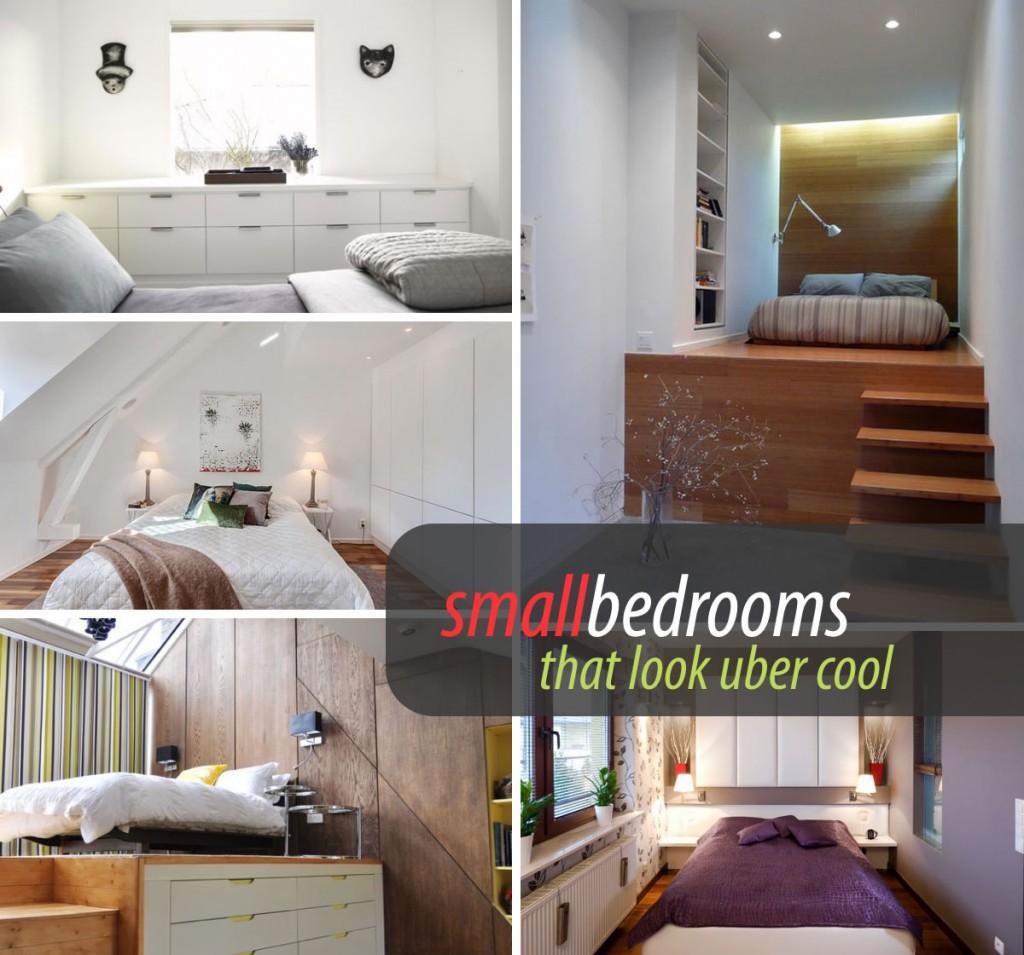 47 ejemplos para aprovechar espacios en dormitorios for Really small bedroom ideas