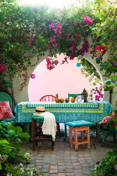 37 dise os para la decoraci n de patios de casas estilo for Ideas de decoracion de patios