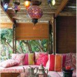 37 diseños para la decoración de patios de casas, estilo bohemio