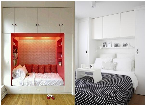Ideas de ahorro de espacio en dormitorios peque os tikinti - Ideas dormitorios pequenos ...
