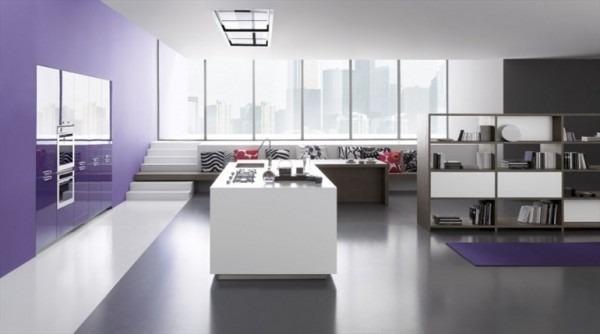 6 cocinas minimalistas tikinti for Diseno de cocinas minimalistas