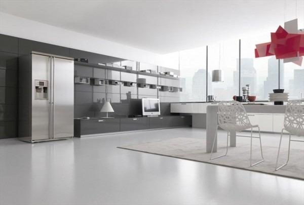Cocinas Modernas Blancas Y Grises. Fabulous Resultado De Imagen Para ...