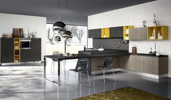 Fotos de cocinas modernas tikinti for Mesa encimera cocina