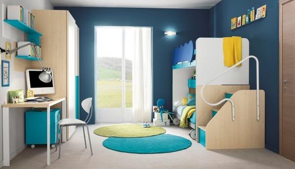 Ideas de dise o moderno para dormitorio de ni os tikinti for Dormitorios infantiles de diseno