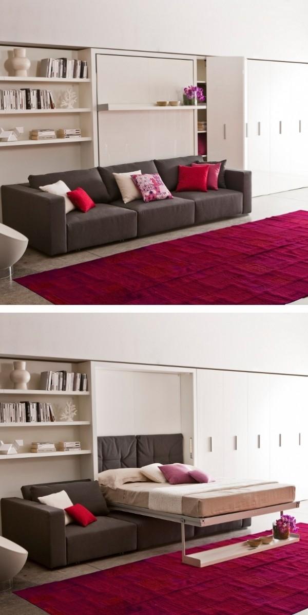 Ahorro de espacio cuando se dise a camas y dormitorios for Dormitorios ahorro total