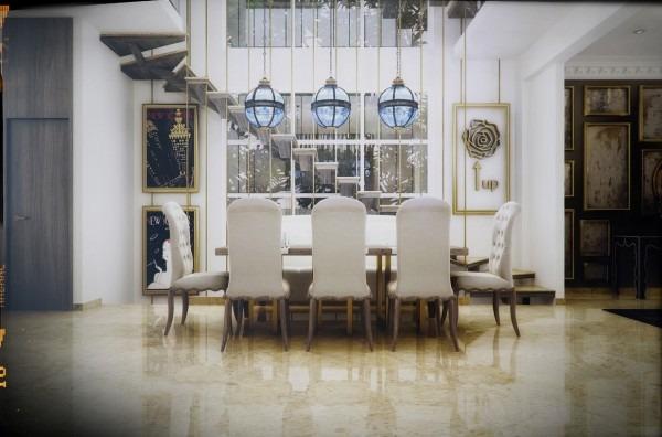 comedores con estilo diseos frescos y elegantes with comedores modernos y elegantes