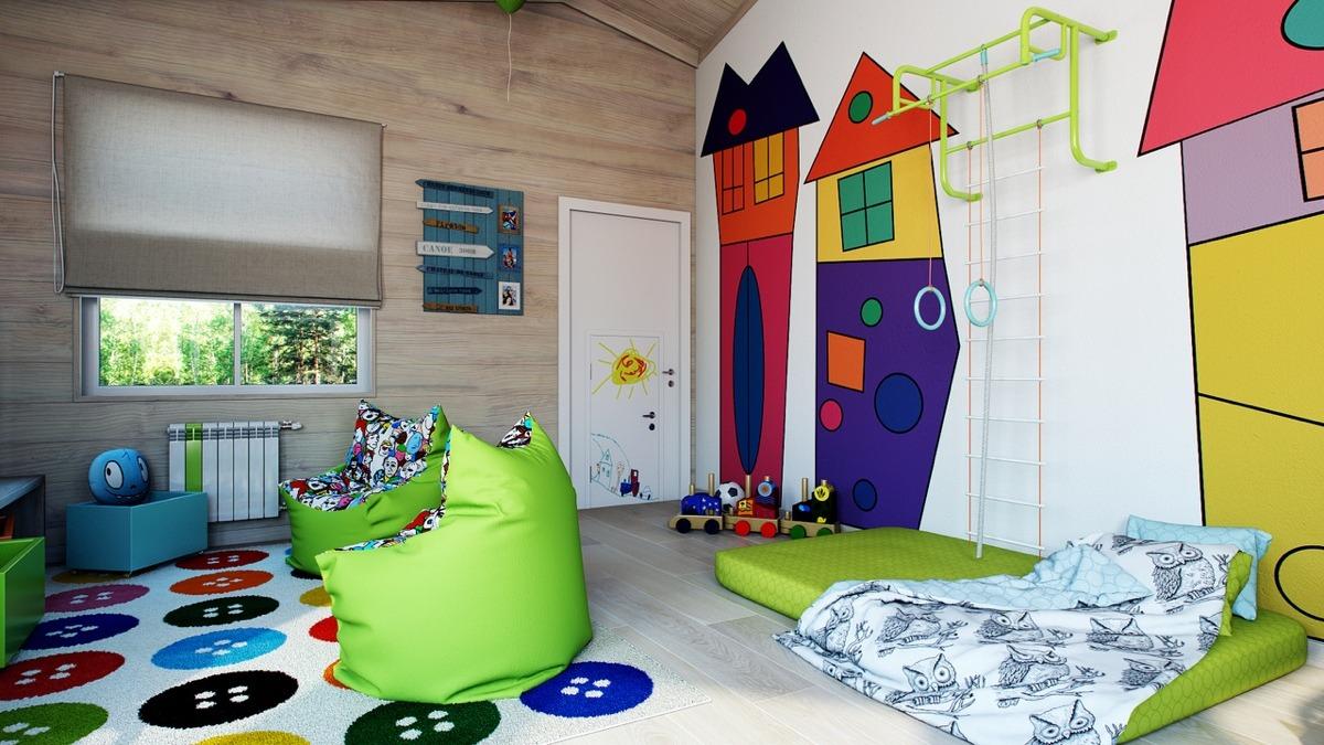 40 habitaci nes de ni os dise os brillantes y coloridos for Dormitorio ninos diseno