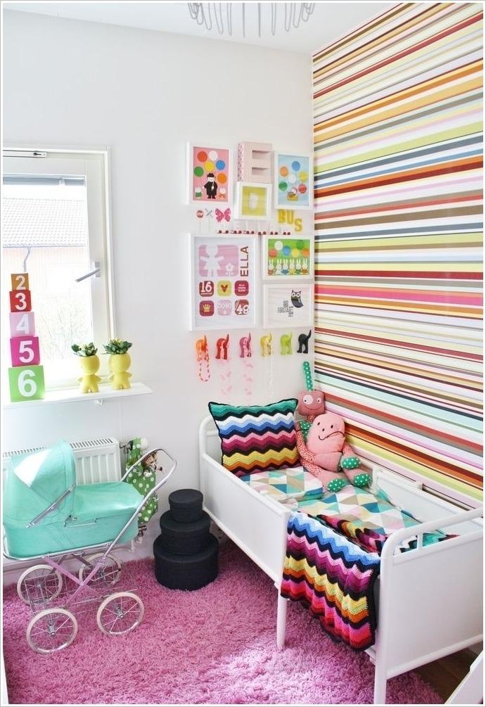 8 ideas de habitaciones para ni os decoraci n alegre y for Decoracion de espacios para ninos