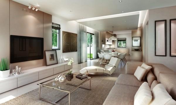 Impresionantes y elegantes salas modernas tikinti for Salas de estar modernas y pequenas