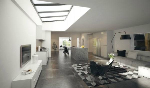 23 apartamentos sin divisiones interiores una vida sin for Decoracion de espacios abiertos en casa