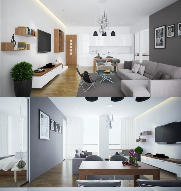 How To Divide An Open Plan Space 9 Ideas: 23 Apartamentos Sin Divisiones Interiores, Una Vida Sin