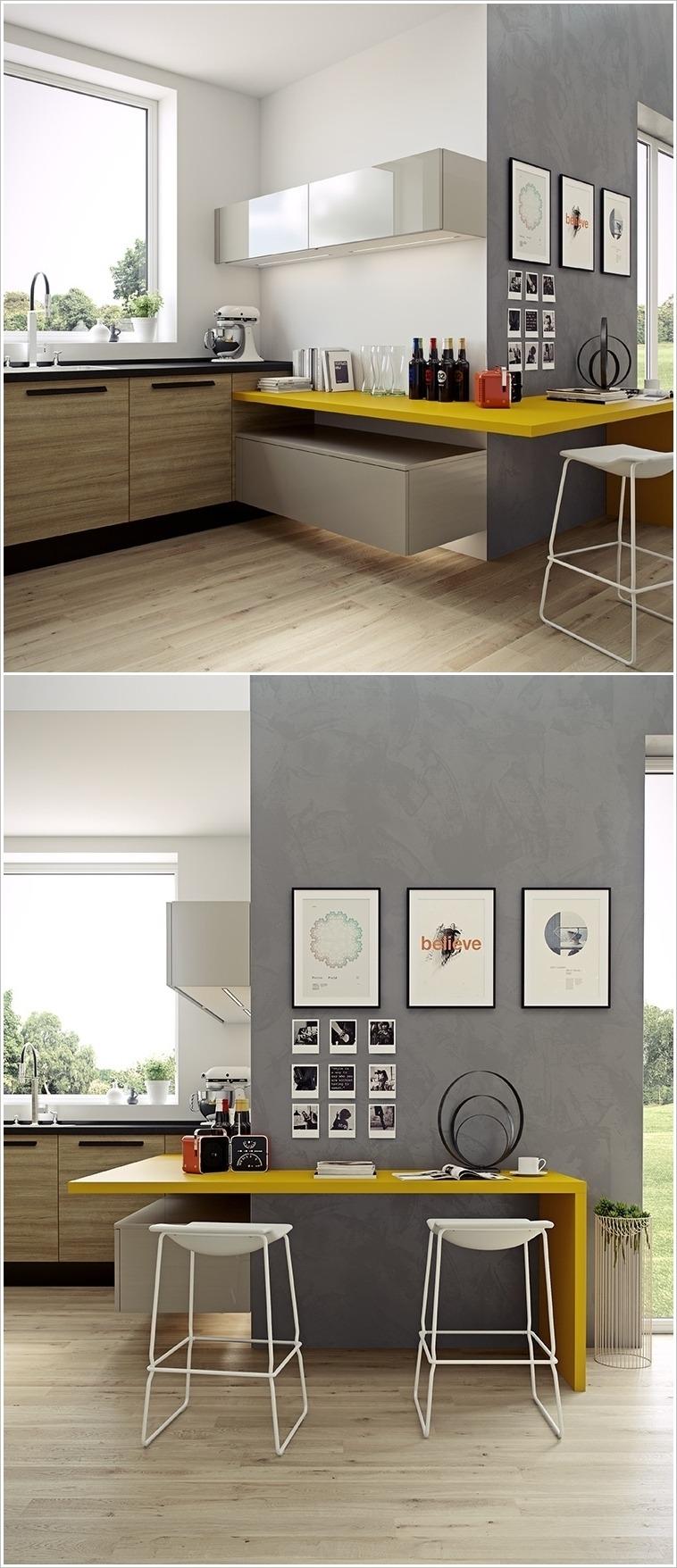 16 Cocinas Ultra Modernas Tikinti ~ Cocinas Pequeñas Para Apartamentos