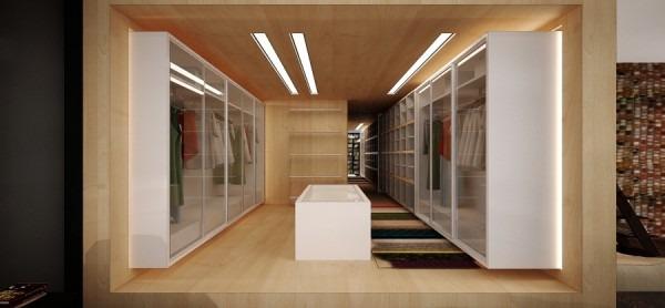 Decoracion de interiores simples y modernos por 2 b grupo for Diseno de interiores closets modernos