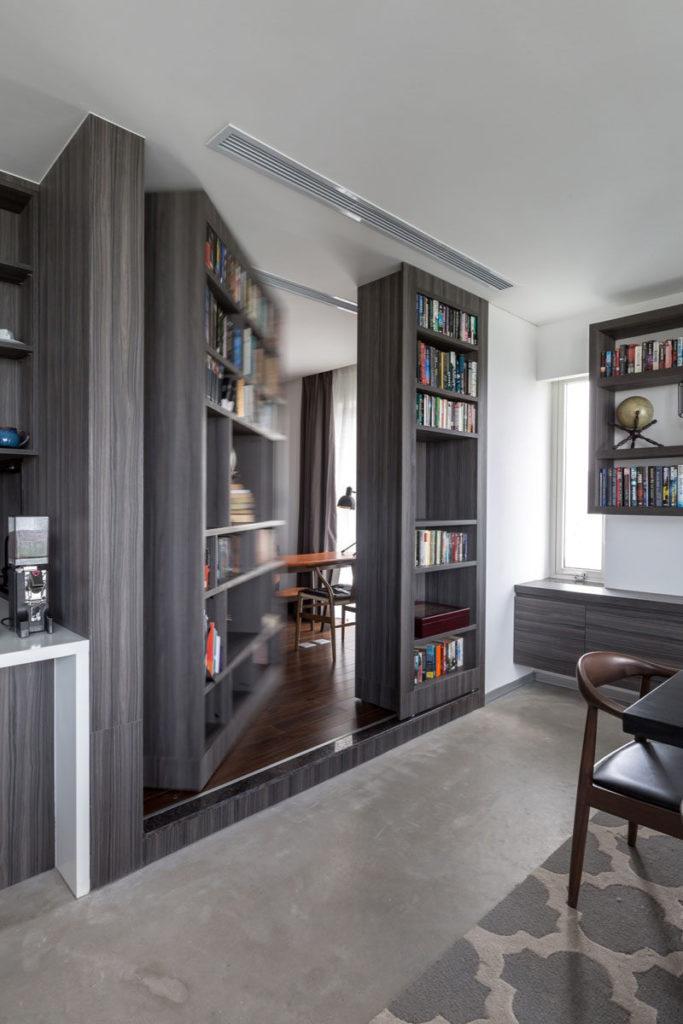 Hidden Doors In Wall Modern