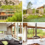 Esta casa de campo construida en medio de las colinas de Montana