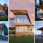 Ejemplos de la impresionate arquitectura construida en el Noroeste del Pacífico USA.