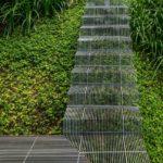 Que gran idea: Escaleras de bajo impacto que permiten a las plantas a crecer por debajo de ellas