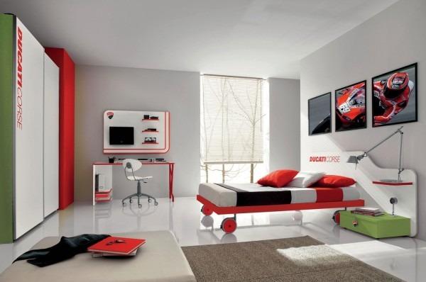 ideas de dormitorio verde chicos Ideas De Diseo Moderno Para Dormitorio De Nios Tikinti