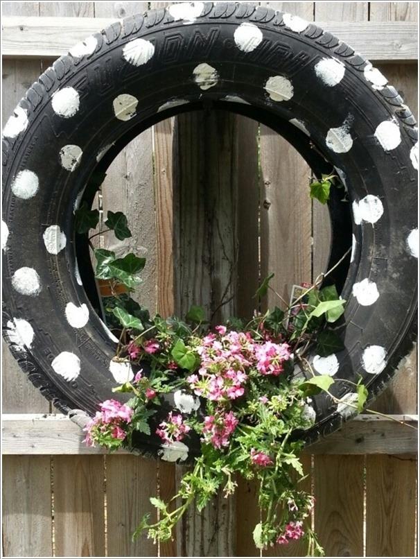ideas de reciclaje para jardines Reciclar Viejos Neumticos O Llantas Tikinti