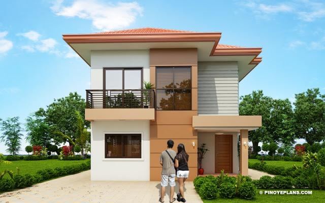 Diseño De Casa Con Cuatro Dormitorios Tikinti